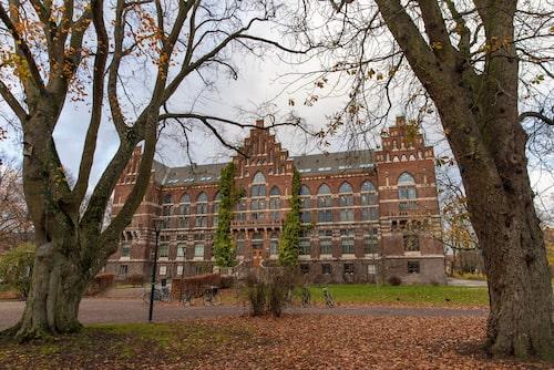 UB 1 Universitetsbiblioteket stod klart i början av 1900-talet.