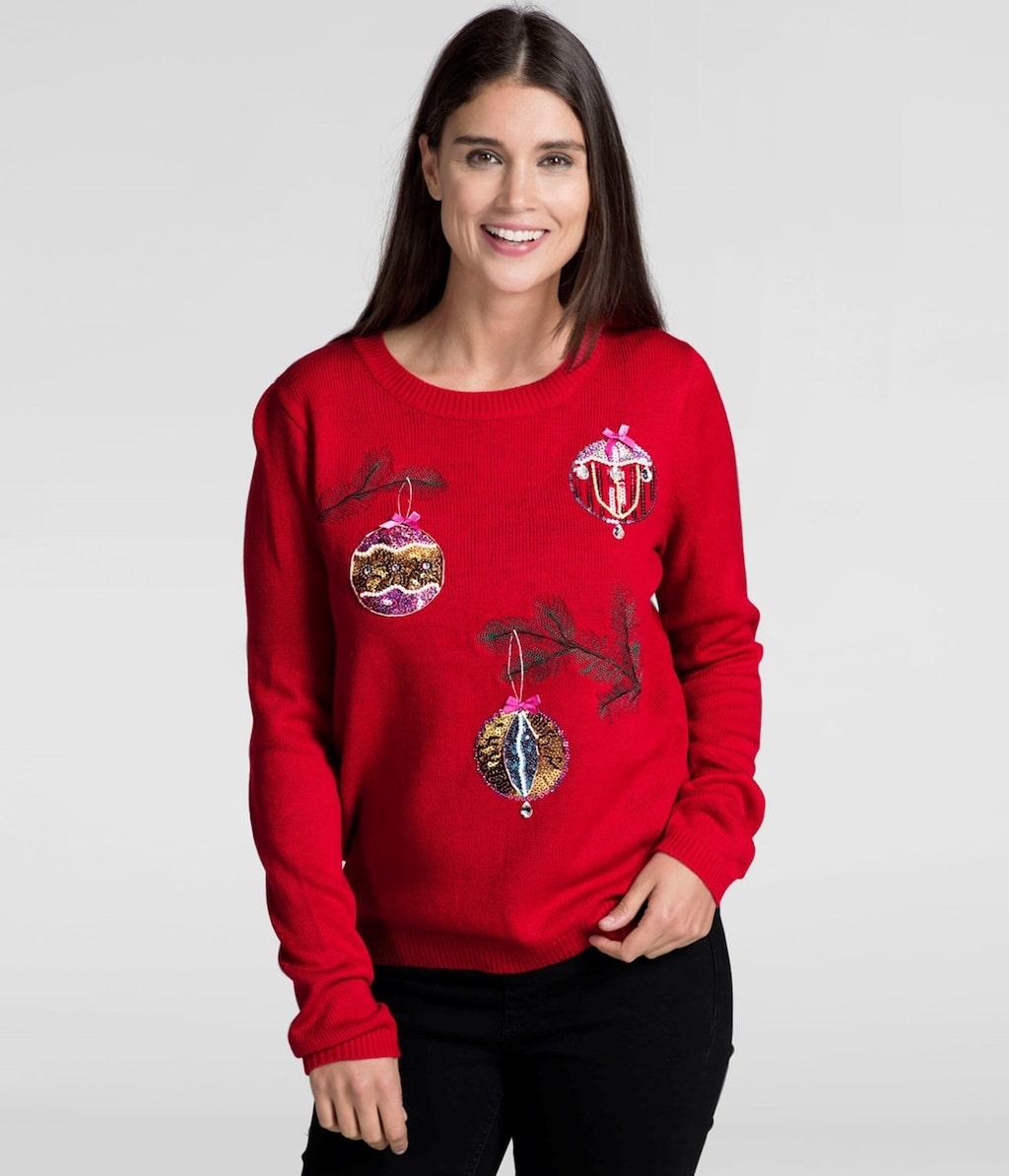 Den här tröjan är från KappAhl och kostar 299 kronor.