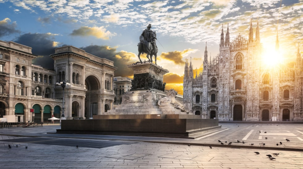 Milano har mat, kultur, fotboll och shopping i världsklass.
