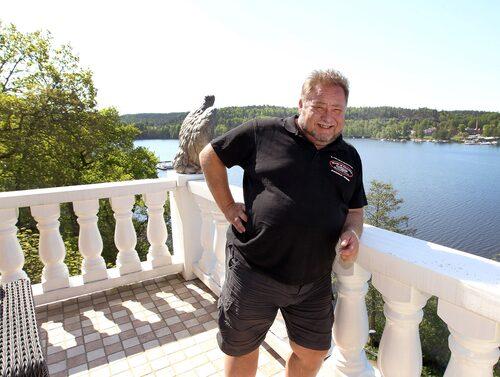Leif-Ivan Karlsson har bott i huset tillsammans med frun Susanne i 20 år – men på senare år har de haft andra boenden.