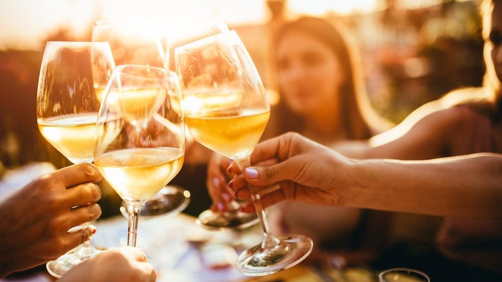 Är vitt vin bäst om man vill unna sig alkohol?