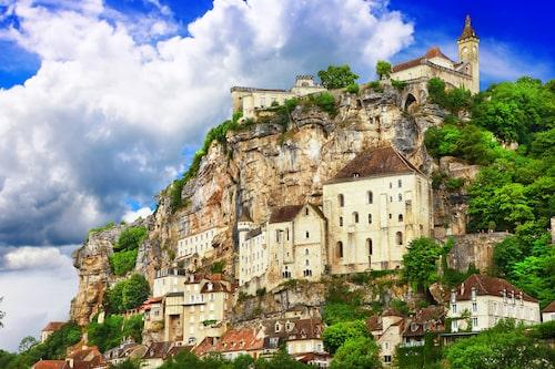Rocamadour var en gång i tiden världens fjärde största pilgrimsmål.
