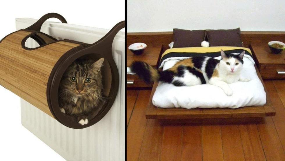 Underbara kattmöbler! För visst skulle din katt fullkomligt älska det här?!