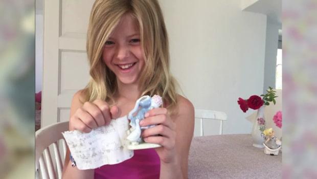 Nioåriga Gretas porslinsfigur dolde ett mysterium