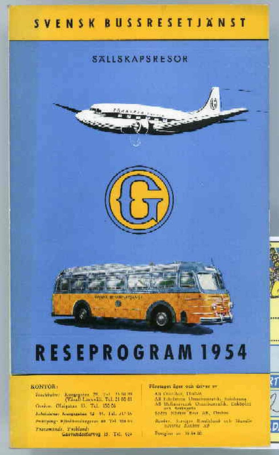 Flyg och buss var grejen innan de första bad- och solresorna kom i gång.