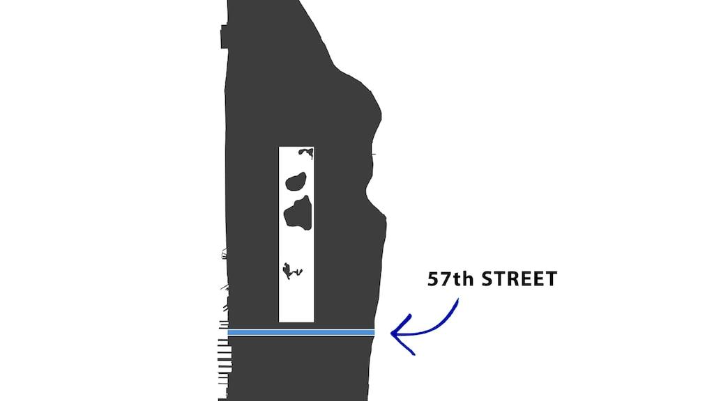 """57:e gatan på Manhattan kallas även för """"Billionaires Row""""."""
