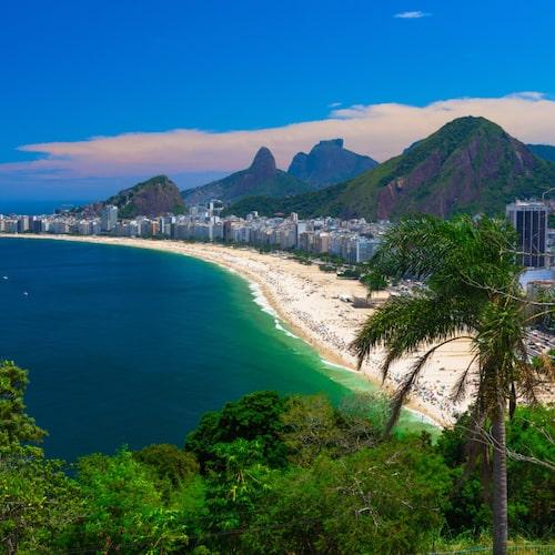 Vackert och världsberömt – det är Rio de Janeiro.