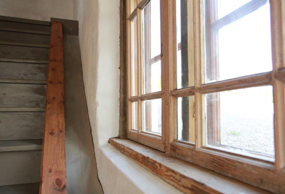 Nya fönster. Innanfönstren är nya.