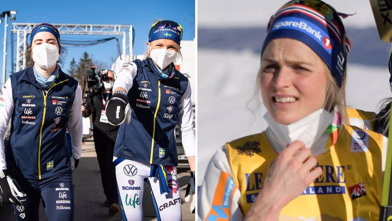 Sveriges reaktion – efter norska draget