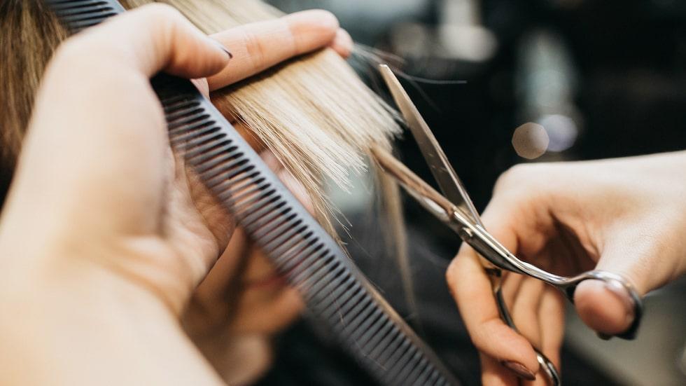 Nu till hösten är det många som klipper håret kort.