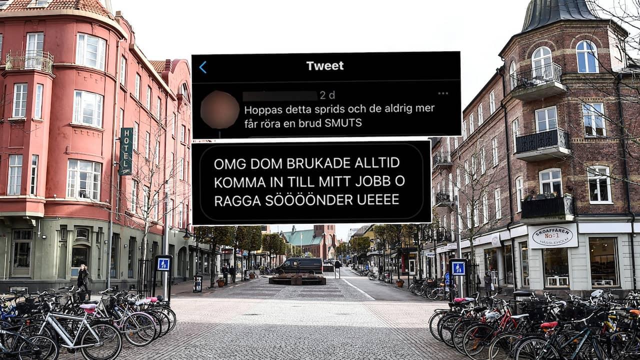 Män i Hässleholm - Singel i Sverige