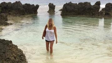 Heide Garrigan på Vanuatu.