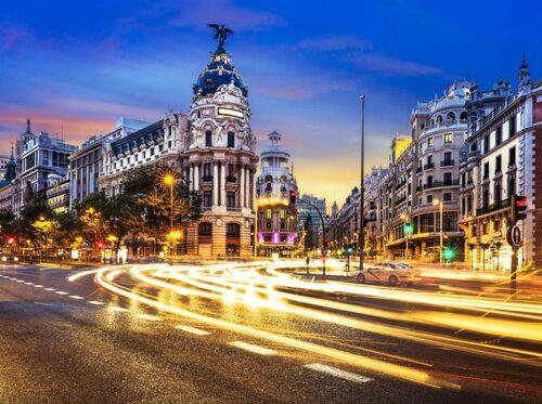 Madrid – en vibrerande storstad.