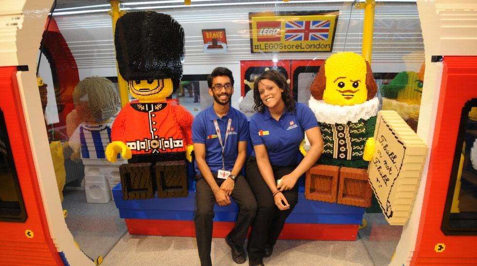 Butiken i London är den 37:e specialbutiken som leksaksföretaget öppnat och den hittills största.