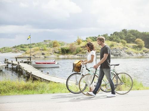 På Styrsö finns inga bilar.