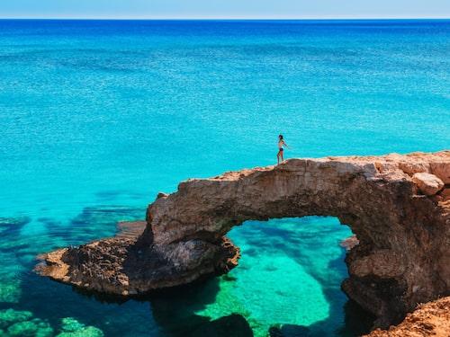 På Cypern finns några av Europas vackraste stränder.