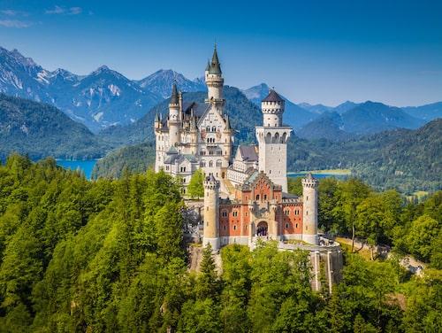 Neuschwanstein – en uppvisning i kungligt vansinne.
