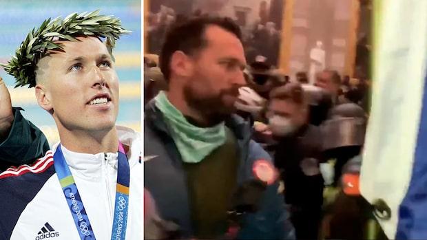 OS-guldmedaljören pekas ut efter video