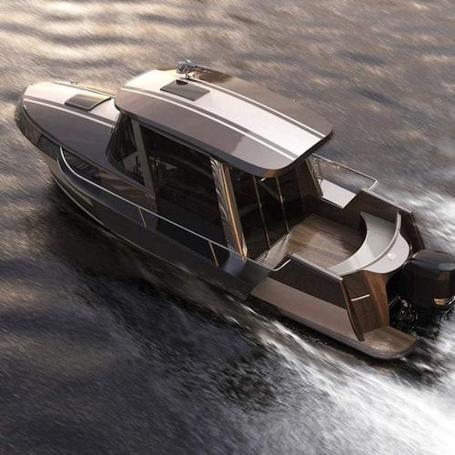 Liten som en jolle – lyxig som en yacht.