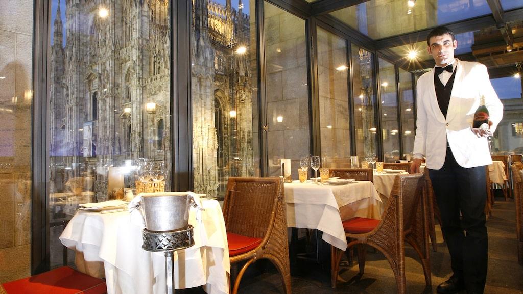 Pietro Lehmann på vegetariska restaurangen Joia, som har en stjärna i Guide Michelin.