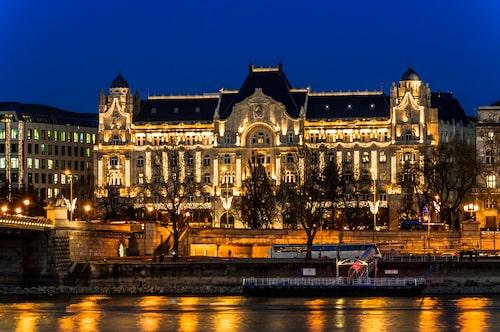 Hotel Gresham, ett av Budapest vackraste kulturarv.