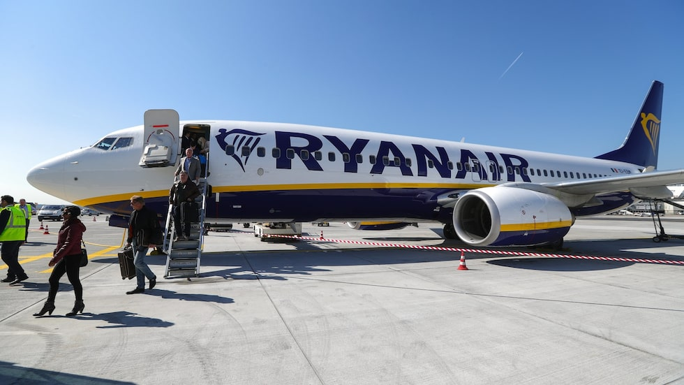 Ryanair har resestopp efter graviditetsvecka 36.