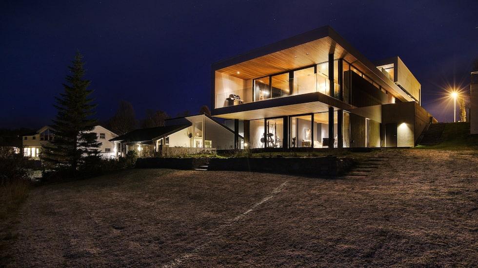 Lyxiga Villa Telegrafbukta i Tromsö, Norge erbjuder sovplatser utöver det vanliga.