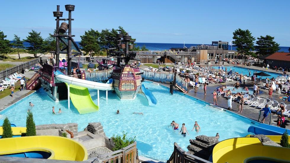 Badlandet på Böda Sand.