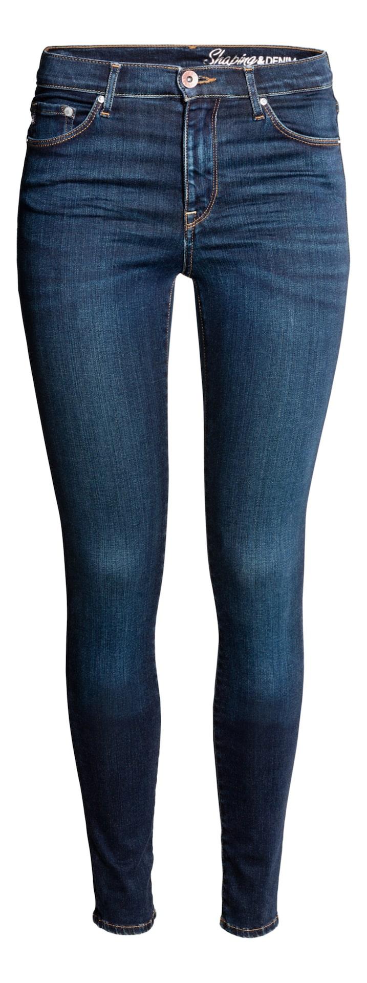 Shaping Skinny High Jeans, HM, 499 krJeans med technical stretch som skulpterar kroppen, håller in och formar midja, lår och rumpa samt bevarar formen på jeansen. Finns med normal eller hög midja.