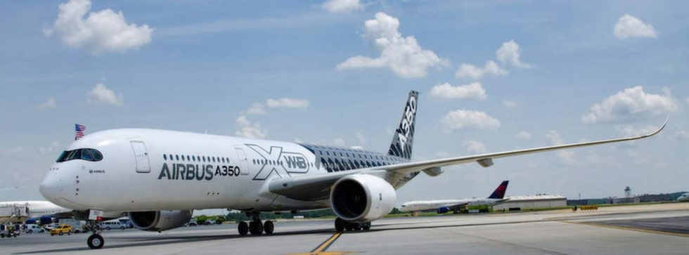 Airbus A350 XWB är en av företagets senaste modeller. I dag tar det cirka sju timmar att flyga mellan London och New York med vanligt flyg.
