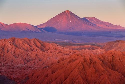 Packlista till Atacamaöknen:vattenflaska – japaraply – nej