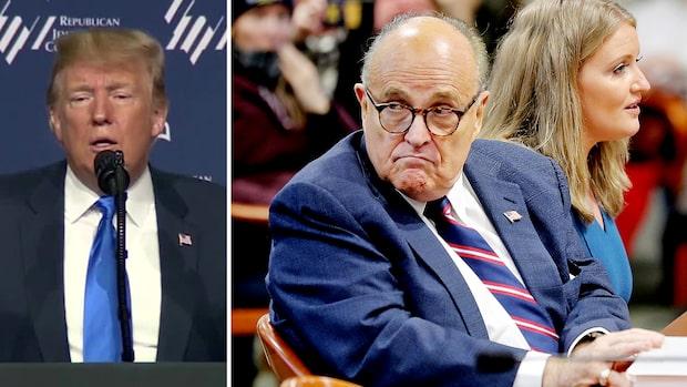 Troligen ingen benådning för Giuliani på Trumps sista dag