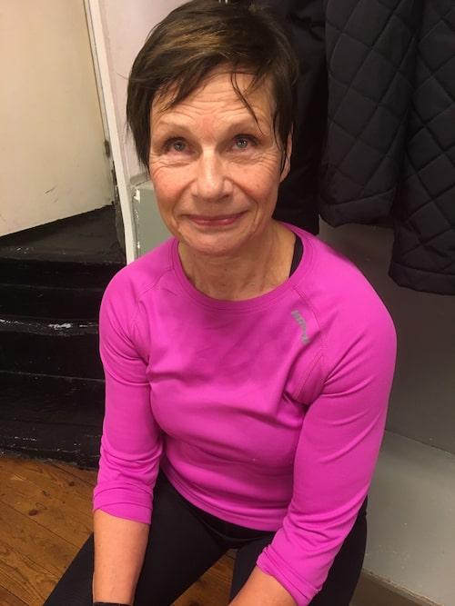 Anette Rönnqvist, 71 är en av dem som boxas med Grå pantrarna.