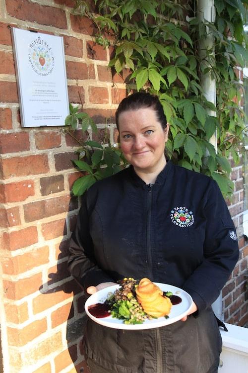 Isabel Brummer satsar på vegansk gastronomi i Andrarum.