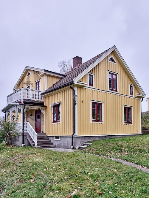 Familjens hus, Villa Lineberg, var ett av de första husen som byggdes i Egnahemsområdet i Jönköping.