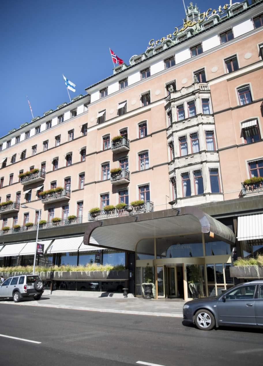 Grand Hôtel finns med på topplistan över turisternas favorithotell i Stockholm.