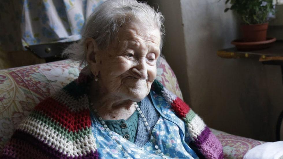 Emma Morano föddes 29 november 1899 i det italienska samhället Civiasco. Hon har överlevt två världskrig.