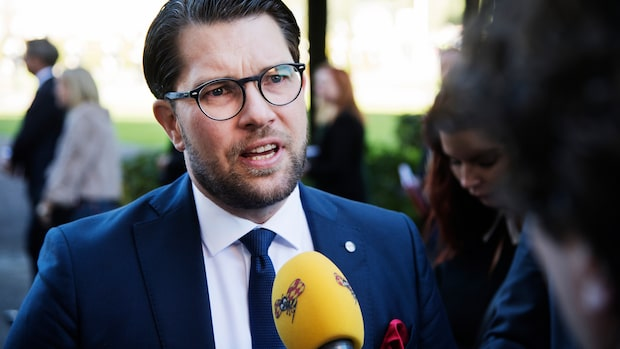 """Åkesson: """"Moderaterna har kommit närmare oss"""""""