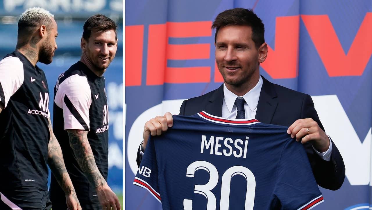 PSG:s galna vinst på Messi-tröjorna