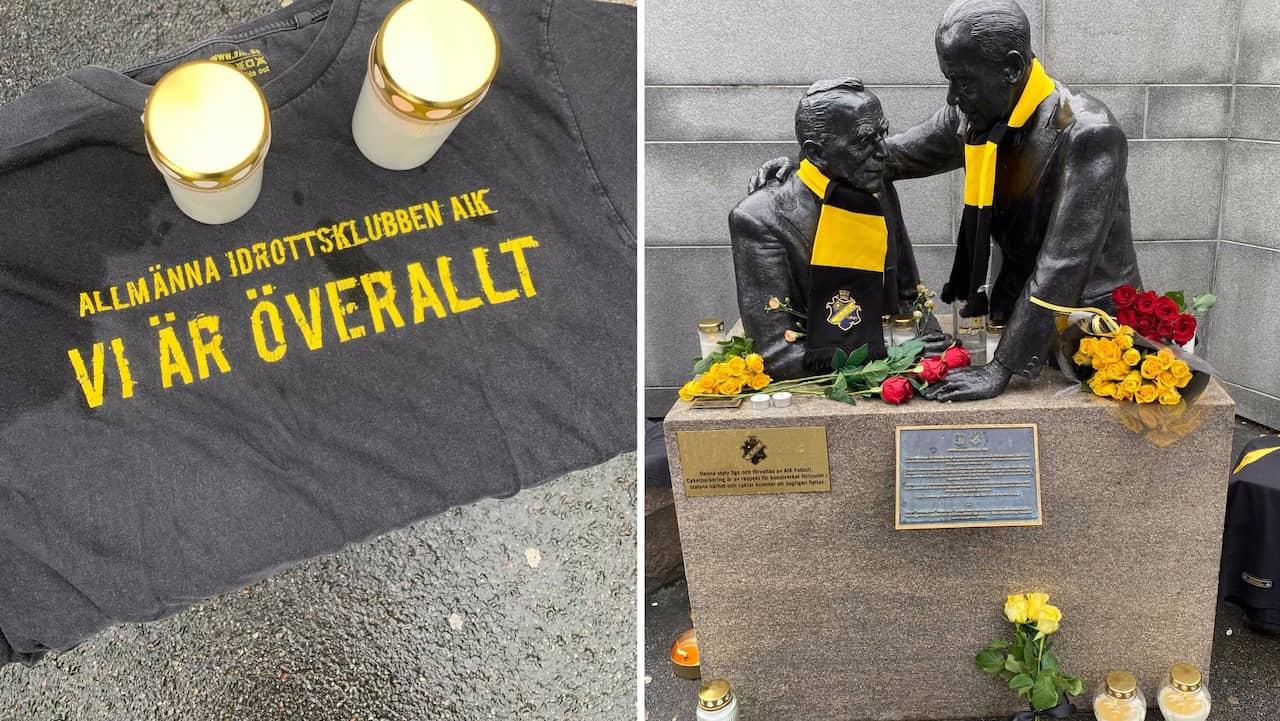 Tonårspojkarna var på väg till match – sorg i AIK-lägret