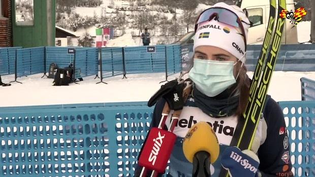"""Ebba Andersson: """"Känns lovande"""""""