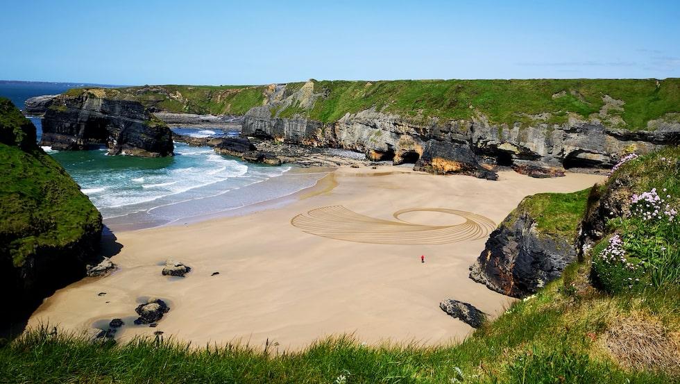 Ballybunnion beach och Ring of Kerry i Killarney nationalpark.