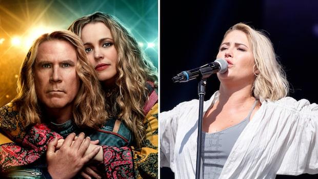Molly Sandéns schlagerlåt i toppar listor i 24 länder