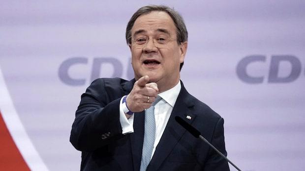 """Laschet tar över CDU: """"Aldrig varit på internationella arenan"""""""