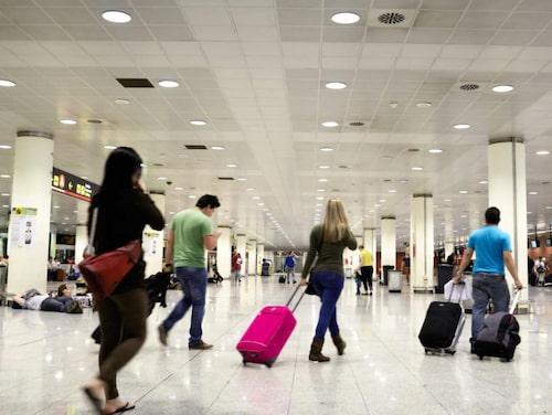 Res med bara handbagage