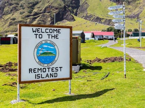 Tristan da Cunha – jordens mest avlägsna plats.