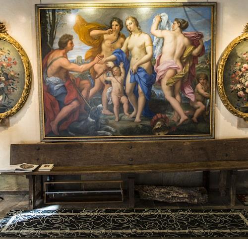 Konstgalleriet Antichita Pietro Scarpa är sprängfyllt med antika målningar.