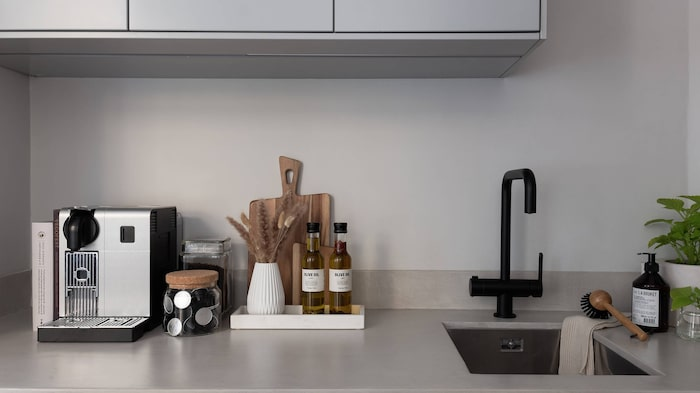 Köket är som allt annat topprenoverat.
