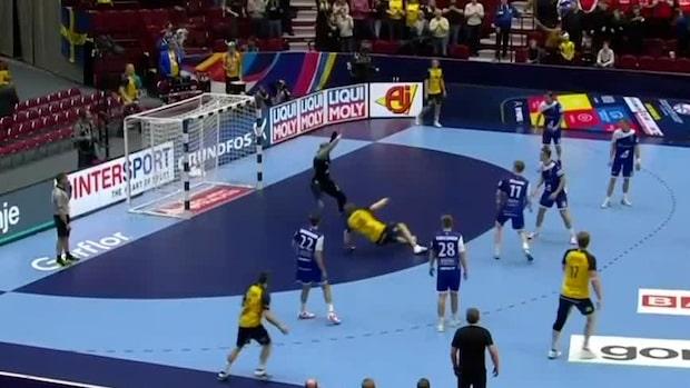 Highlights: Sverige spelade ut Island – avslutade EM snyggt
