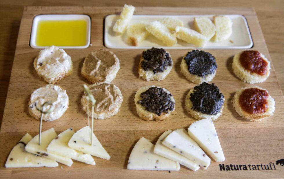 På Natura Tartufi bjuds tryffel i alla möjliga kombinationer.